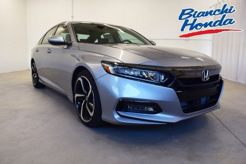 New 2018 Honda Accord Sedan Sport 1.5T CVT