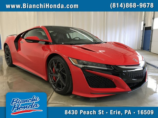 2017 Acura Nsx For Sale >> Pre Owned 2017 Acura Nsx 2dr Car In Erie P0318220 Bianchi Honda