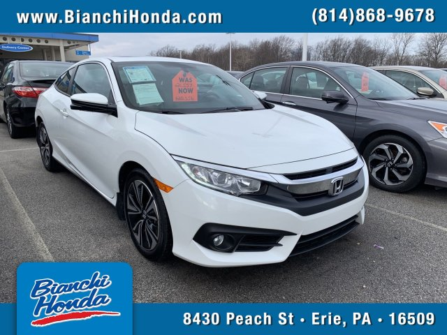 Certified Pre-Owned 2016 Honda Civic Coupe EX-L