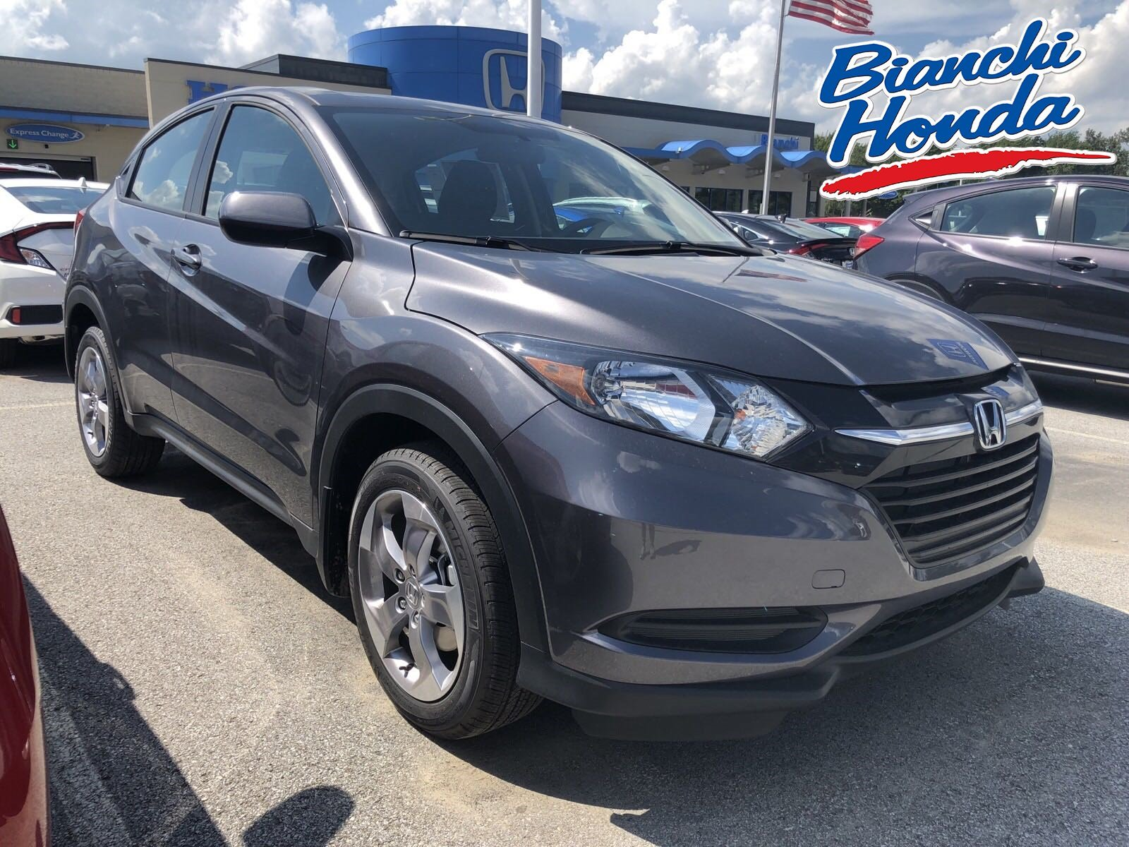 New 2018 Honda Hr V Lx Awd Cvt Sport Utility In Erie Ha3857