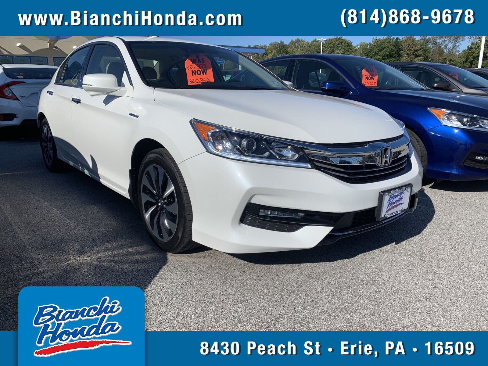 Pre-Owned 2017 Honda Accord Hybrid Hybrid