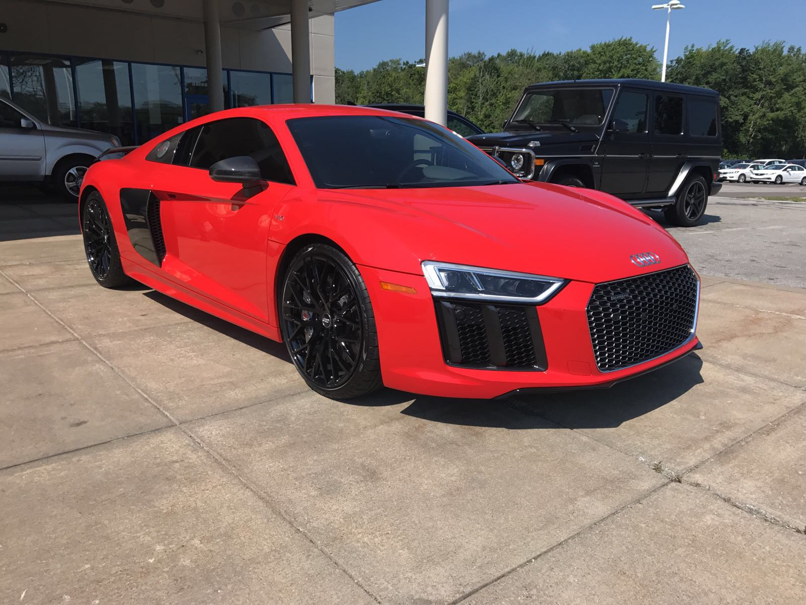 pre-owned 2017 audi r8 coupe v10 plus 2dr car in erie #p0717151