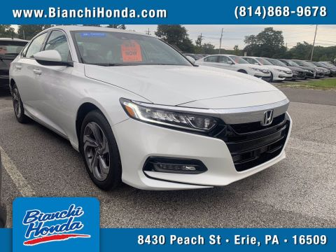 Certified Pre-Owned 2018 Honda Accord Sedan EX 1.5T