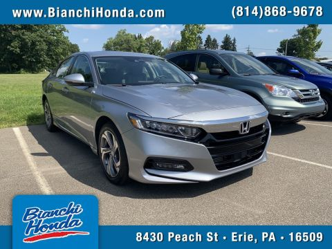 Certified Pre-Owned 2018 Honda Accord Sedan EX-L 2.0T