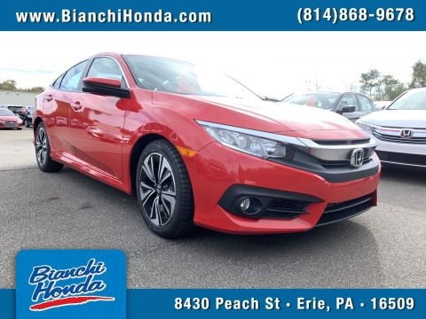 Pre-Owned 2017 Honda Civic Sedan EX-T