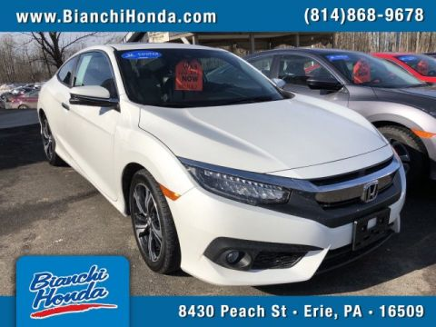 Certified Pre-Owned 2016 Honda Civic Coupe Touring