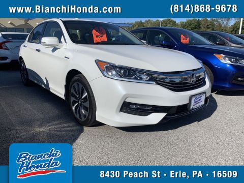 Pre-Owned 2017 Honda Accord Hybrid 4DR SDN HYBRID
